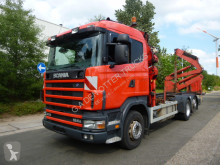 Camion porte containers Scania R 124