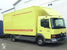 Camion fourgon Mercedes Atego 815 4x2 Klima/Umweltplakette gelb