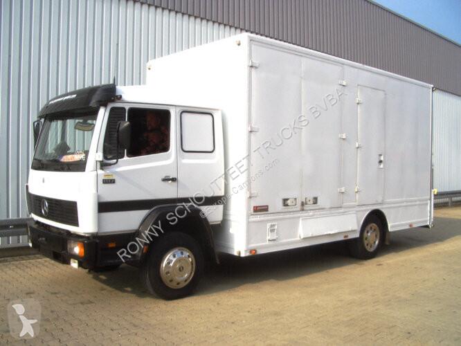 Voir les photos Camion Mercedes L 817L   4x2  NSW/Umweltplakette Rot