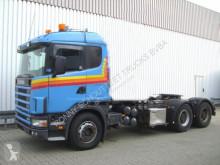 Scania 144G 530 6x4 144G 530 6x4 mit Kran Loglift F 215 Z truck