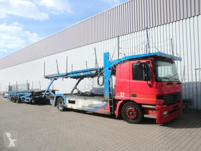 Voir les photos Camion Mercedes Actros 1843L 4x2  1843L 4x2 mit Anhänger, AT-Motor!
