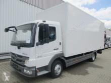 Camion fourgon occasion Mercedes Atego 816 4x2 R-CD/Umweltplakette grün