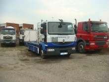 Camión Renault Midlum 220.12 DXI caja abierta transporta gas usado