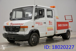 Lastbil biltransport Mercedes Vario