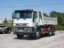 Iveco Cursor 350 truck used two-way side tipper
