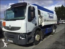 Camion Renault Premium 280.19 DXI cisterna idrocarburi incidentato