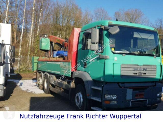 Ver as fotos Camião MAN 26.350,Palfinger Kran PK 15001,analoger Tacho