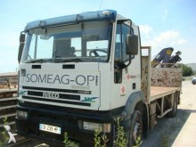 Iveco Cursor 350 truck used flatbed