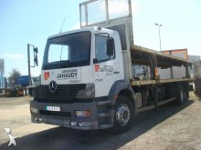 Lastbil flatbed jerntransport Mercedes 1828
