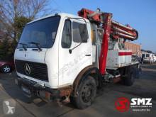 Camion betoniera cu malaxor si pompa Mercedes 1213