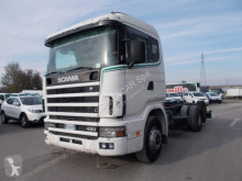 Camion Scania R124 LB 6X2*4 NA 420 occasion