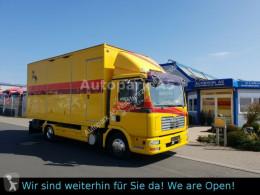 Lastbil hästtransport MAN TGL 10.180 Euro 4 Pferdetransporter Horse