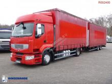 Vrachtwagen met aanhanger Schuifzeilen Renault Premium 460.19