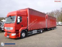 Lastbil med släp Renault Premium 460.19 skjutbara ridåer (flexibla skjutbara sidoväggar) begagnad