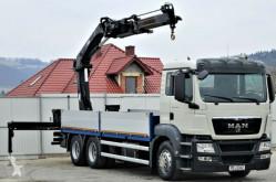 Camion plateau MAN TGS 26.400 Pritshe 6.25m+Kran/FUNK 6x4 !!!