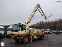 Camión Isuzu CVR80K concrete pump 19 m hormigón mezclador + bomba usado