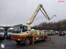 Isuzu CVR80K concrete pump 19 m truck used concrete mixer + pump truck concrete