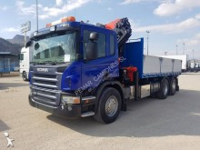 Scania P 420 truck used tipper