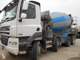 DAF CF85 360 truck used concrete mixer