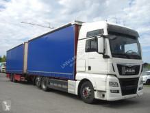 Camion remorque MAN TGX 26480LL / KOMPLETER ZUG savoyarde occasion