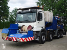 Camión hormigón bomba de hormigón usado Mercedes Actros 3241 8x4 E5 Betonpumpe Meyco Roadrunner