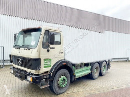 Remorca Mercedes 2635 6x4 2635 6x4, V8-Motor Dachluke transport containere second-hand