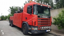 Scania L 124L truck used tow