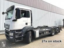 Kamion MAN TGS 26.360-400 6x2-4 BL 26.360-400 6x2-4 BL, 27x VORHANDEN! Intarder, Lenk- und Liftachse podvozek použitý