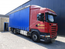 Camion Scania R 420 obloane laterale suple culisante (plsc) second-hand