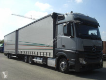 Camion remorque Mercedes Actros 2542L JUMBOZUG savoyarde occasion