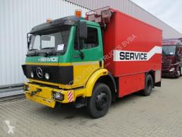 Камион фургон втора употреба Mercedes LK 1222 AF 4x4 1222 AF 4x4 Workshop truck, Seilwinde