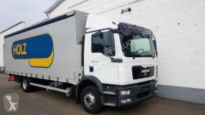 MAN TGM 15.290 BL/51 15.290 BL/51, Gardine, LASI truck used flatbed
