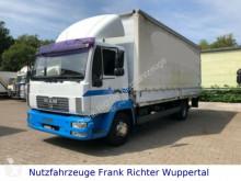 Camion MAN 12.180, erst 499 TKM,grüne Plakette/Tüv frei/2Hd centinato alla francese usato