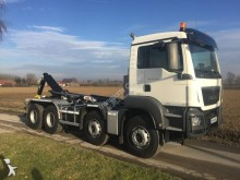 MAN hook arm system truck TGS 35.440