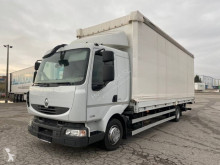 Camion cu prelata si obloane second-hand Renault Midlum 220.12 DXI