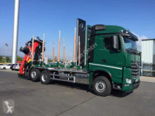 Грузовик лесовоз Mercedes Arocs 2751 L 6x2 (6x4) HAD + Holztransporter