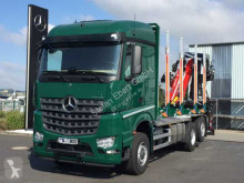 Mercedes timber truck Arocs 2751 L 6x2 (6x4) HAD + Cranab TZ12.2
