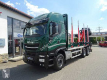 Iveco Holztransporter X-Way AS 260 X 51 Z/P HR ON+ / Cranab TZ12.2