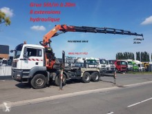 MAN hook arm system truck TGA 35.480