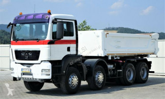 Camion MAN TGS 35.400 Kipper 5,10m *8x4*Top Zustand! benne occasion