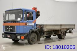 Camión MAN 12.192 caja abierta usado