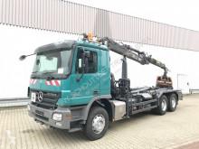Camion benne Mercedes Actros 2646 LK 6x4 2646 LK 6x4 mit Kran Loglift 140S, Retarder