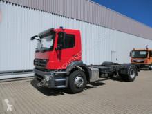 Mercedes chassis truck Axor 1824 L 4x2 1824 L 4x2 Fahrgestell EX-Feuerwehr-Tankfahrzeug