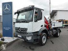 Mercedes Arocs 1832 KK 4x2 Kipper+Kran Fassi F120+Funk truck new three-way side tipper
