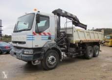 Renault truck used two-way side tipper