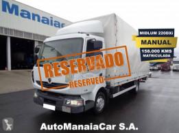 Camion Renault Midlum 220 DXI rideaux coulissants (plsc) occasion
