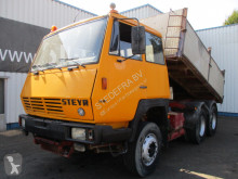 Steyr 1491, 3way Tipper, Spring susp. truck used three-way side tipper