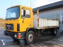 Used flatbed truck MAN 18.232