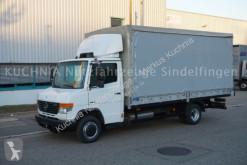 Camión lona Mercedes Vario 618d Pritsche 5,05m Klima Luftgefedert AHK