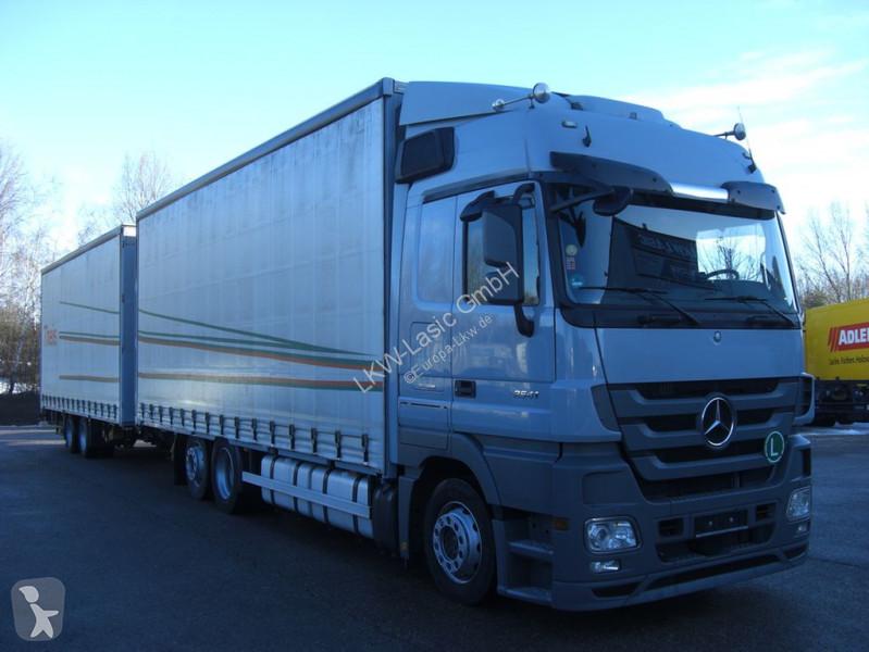 Vedere le foto Autotreno Mercedes Actros 2541 L